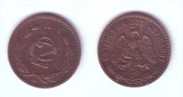 Mexico 2 Centavos 1915 Zapata Issue - Mexico