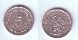 Mexico 5 Centavos 1905 - Messico