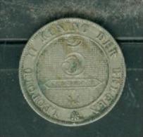 Belgique - 5 Centimes 1895   - Pieb6605 - 1865-1909: Leopold II