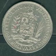 Venezuela 2 Bolivar 1967.- Pieb6608 - Venezuela