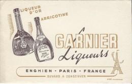 Garnier Liqueurs/Liqueur D'Or/ Abricotine / ENGHIEN/France/Valenciennes   /Vers 1955   BUV176 - Liquor & Beer