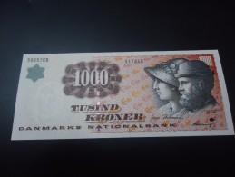 1998 DENMARK RARE 1000 KRONER ( P 59 ) - UNC / aUNC -