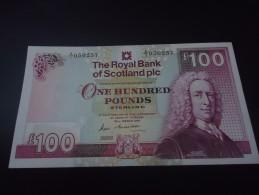1987 ROYAL BANK of SCOTLAND VERY RARE 100 POUNDS  * SERIE: A/1 * ( P 350a ) - UNC / aUNC -