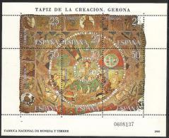 1980-ED.2591 H.B.-TAPIZ DE LA CREACIÓN,GERONA-NUEVO - Blocks & Sheetlets & Panes