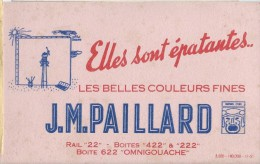 JM Paillard/ Boite Omnigouache/ Les Belles Couleurs Fines / Elles Sont épatantes/1951   BUV178 - Paints