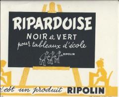 Ripardoises Noir Et Vert  Pour Tableaux D'école/ RIPOLIN/1951   BUV179 - Paints