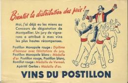 Vins Du Postillon/ Bientôt La Distribution Des Prix / MONTPELLIER/ /Vers 1950   BUV177 - Alimentaire