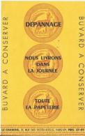 Le Chamois/ Rue Des Petits Hôtels /Paris / Toute La Papeterie  /Vers 1950     BUV182 - Stationeries (flat Articles)