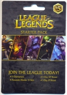 League Of Legends  Game On Line U.S.A., Card For Collection, No Value,   # G-372 - Gift Cards