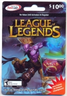 League Of Legends  Game On Line U.S.A., Card For Collection, No Value,   # G-373 - Gift Cards