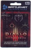 Diablo, Auction House  U.S.A. Game Card,  Carte Pour Collection Sans Valeur  # G-380 - France