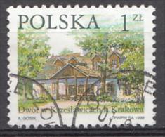 Pologne Mi.nr.:3773 Polnische Gutshöfe 1999 Oblitérés / Used / Gestempeld - 1944-.... Republic