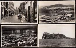 12 X OLD CPA PHOTOCARD (10) - GIBRALTAR - BARGAIN !!! 3 SCAN - Gibilterra