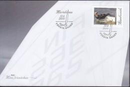 ALAND 2010 My Stamp, Sailing FDC - Aland