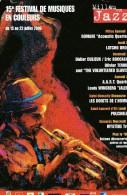 Carte Postale Festival Millau En Jazz 2003 - Muziek En Musicus