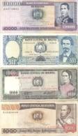 BOLIVIA 8 BILLETES DIFERENTES TBE - Bolivia