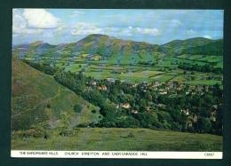 ENGLAND  -  Church Stretton  Caer Caradoc Hill  Used Postcard As Scans (creasing Top Left) - Shropshire