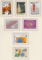 Onu Wien - Complete Year Set 1981 ** - Vienna - Ufficio Delle Nazioni Unite