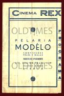 PORTUGAL - LISBOA - CINEMA REX - 1945 OLD PROGRAM - Programs