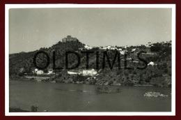 PORTUGAL - BELVER - VISTA GERAL DA ALDEIA E CASTELO - PROVA DE EDITOR - 1950 LARGE SIZE REAL PHOTO - Photographs