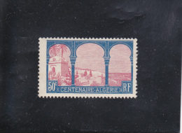 CENTENAIRE ALGéRIE FRANçAISE  50C BLEU/ROSE NEUF * N° 263 YVERT ET TELLIER 1930 - France