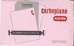 Papeterie / Carboplane /Korés / Le Carbone Qui Ne Se Roule Pas / /Vers 1950     BUV185 - Stationeries (flat Articles)