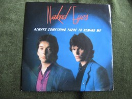 Naked Eyes-Always Something There To Remind Me- Single 45 Rpm - Rock