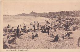 LOWESTOFT - THE BEACH,