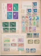 Refugees, United Nations, Expositions1958,Different Countries,30st.2bloc,MNH . - Sammlungen (ohne Album)