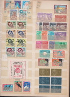 Refugees, United Nations, Expositions1958,Different Countries,43st.1bloc,MNH. - Stamps