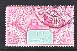 Egypt   Revenue 10  (o)   SALT TAX - 1915-1921 British Protectorate