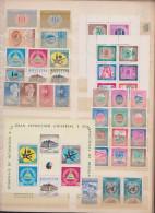 Refugees, United Nations, Expositions,Different Countries,41st.,1bloc,MNH. - Sammlungen (ohne Album)