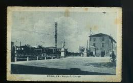 Cpa Italie  FERRARA  Borgo S. Giorgio - Ferrara