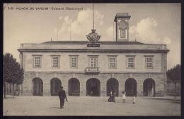 POVOA DO VARZIM / PORTO / PORTUGAL.Postal Camara Municipal. Old Portuguese Postcard. - Porto
