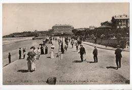 64 - BIARRITZ . LA PROMENADE DE LA GRANDE PLAGE ET LE KIOSQUE DE MUSIQUE - Réf. N°7333 - - Biarritz