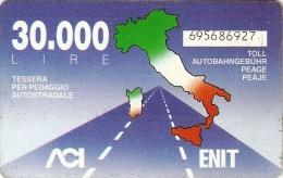 *ITALIA: VIACARD - ACI / ENIT* - Usata - Altre Collezioni
