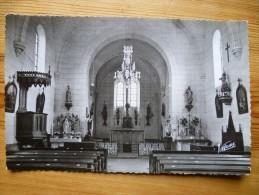 45 : Gemigny - Intérieur De L'Eglise - Plan Inhabituel - CPSM Format CPA - Otros Municipios