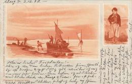 THALATTA Künstlerkarte 1898 - Ohne Zuordnung