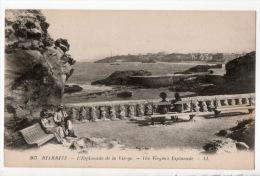64 - BIARRITZ . L´ESPLANADE DE LA VIERGE . THE VIRGIN´S ESPLANADE - Réf. N°7336 - - Biarritz
