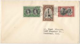 CANADA - 1939 - Special Cancel Train Royal - First Visit Of Royal Family - Viaggiata Per Montreal - 1937-1952 Regno Di George VI