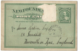 CANADA - Newfoundland - Stamp Removed - Postkarte - Carte Postale - Post Card - Intero Postale - Entier Postal - Post... - Interi Postali
