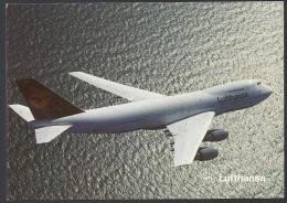 LUFTHANSA - BOEING 747 - 200 - 2 Scans - 1946-....: Moderne