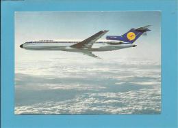 LUFTHANSA - B 727 Europa Jet - Stamp & Cancel - 2 Scans - 1946-....: Moderne