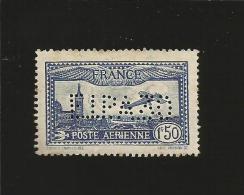 perfor� perfor�s perfins  FRANCE  AVIATION  n� 6c E.I.P.A.30 Etat NEUF avec Taches de Rousseur (c�te 875�)