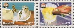 BRAZIL - COMPLETE SET TRAFFIC SAFETY PROGRAM 1995 - MNH - Accidents & Road Safety