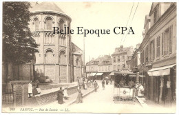 76 - Le Havre - SANVIC - Rue De Sanvic / TRAMWAY +++++ LL, #369 ++++++ Vers Preston, ANGLETERRE, 1915 / CENSOR - Other