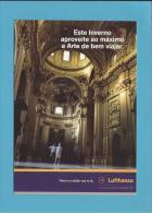 LUFTHANSA - ADVERTISING - Promoção De Inverno 2004 - 2 Scans - Advertising