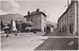 Vaulnaveys Le Haut,isère,prés Uriage,grenoble,vizille, Centre Du Village Et Le Monument Aux Morts,hotel Du Commerce,rare