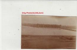 Orig.Photo Allemande- Chemin De Fer Pont Flottant ??(FRONT DE L´EST Guerre14-18) - War 1914-18