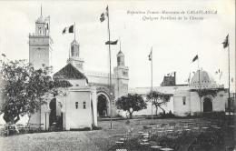 Casablanca - Exposition Franco-Marocaine - Quelques Pavillons De La Chaouia - Photo P. Grebert - Casablanca